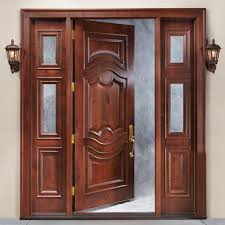 single brown wooden front entry design with golden handle exterior single brown wooden front entry design with golden handle connected by double brown wooden