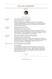Sample Resume Network Engineer by Network Security Engineer Resume Samples Visualcv Resume Samples