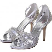 wedding shoes rainbow club ivory silver glitter wedding shoes