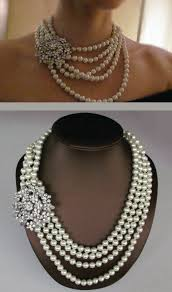 multi pearl necklace images Mia bridal necklace wedding jewelry multi strand pearl jpg