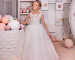 wedding dresses for flower dresses etsy