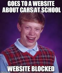 Meme Websites - bad luck brian meme imgflip