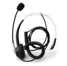 amazon com comdio corded call center telephone headset headphone