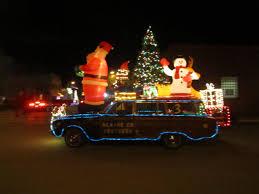 christmas light parade floats christmas a heart of adventure