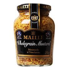 whole grain dijon mustard maille wholegrain mustard 210g from redmart