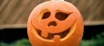 Smashing Pumpkins Halloween - pumpkin smashing print restaurant