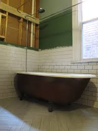 bathroom gorgeous image of painted clawfoot tub decoration using