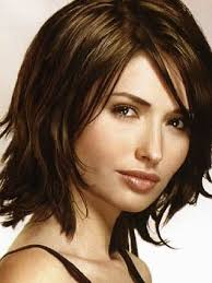 mid length layered haircuts for full face medium length layered haircuts for fine hair hairstyle pop