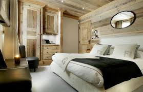 chambre chalet luxe déco chambre chalet luxe