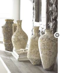 Stone Vases Look Of The Week Neutrals Style At Home