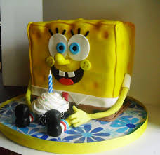 spongebob birthday cake spongebob birthday cakes squarepants for kids wow pictures