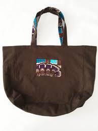 sac cabas lin le sac cabas réversible lin et wax pop couture