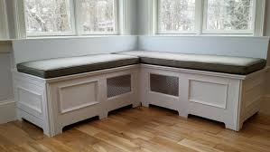 corner storage bench how to build banquette seating how tos diy