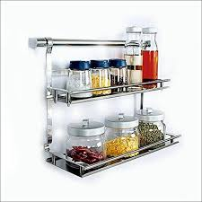 Spice Rack For Wall Mounting Kitchen Wonderful Wall Mount Spice Rack With Doors In Wall Spice