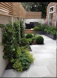 small garden with modern style via pinterest landscaping