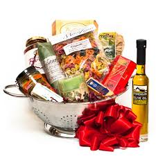 italian food gift baskets italian evening for two gift basket
