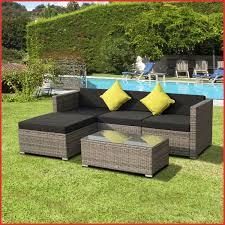 Canape Tresse Exterieur Fabulous Lot Salon Jardin Rotin Exterieur Grand Salon Duextrieur Rond Design En