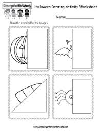 free kindergarten halloween worksheets learning with ghosts and