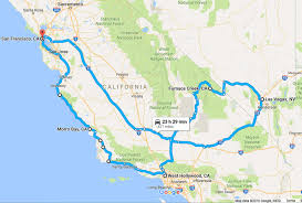nevada road map a road trip itinerary for california and nevada bruised passports