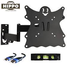 Tv Swing Arm Wall Mount 42 Amazon Com Hippo F2101 Tv Wall Mount Bracket For 15