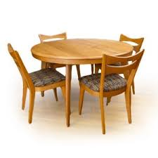 heywood wakefield butterfly dining table heywood wakefield mid century modern dining room furniture