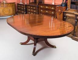 vintage dining table and eight chairs by arthur brett and sons at