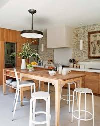 eclectic kitchen cabinets with white dining table and chairs 1491