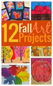 12 amazing fall art projects to try right now for kids crafts