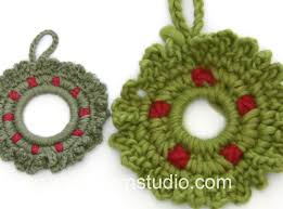 how to crochet the wreath in drops 0 1210
