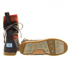 buy boots in nepal buy toms womens nepal boots in mixed woven at hurleys