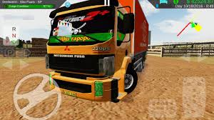 mitsubishi truck indonesia heavy truck simulator android indonesia version part 3