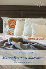 pottery barn style bedroom makeover on a target budget canvas