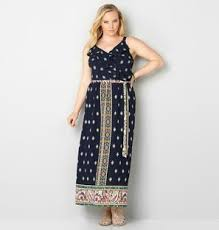 summer maxi dresses plus size womans summer maxi dresses from avenue