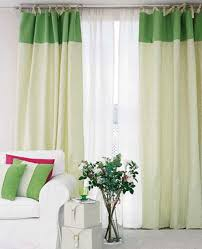 White Curtains With Green Leaves by Green And White Curtains Decor Interior Pleasing White Curtains