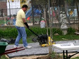How To Lay A Patio With Pavers by How To Building A Patio With Pavers Hgtv