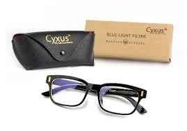 blue light glasses review cyxus blue light filter vintage glasses review clear anti glare