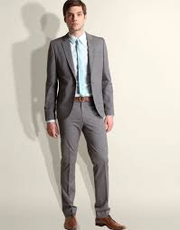 light gray suit brown shoes http cdn styleforum net 6 6e 6e92d46e grey suit jpeg suits