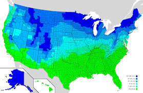 The Usa Map How Much Snow It Typically Takes To Cancel In The U S Oc