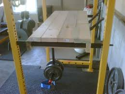 reverse hyper built for inside the power rack powerlifting