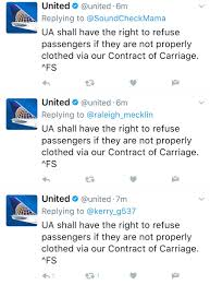 United Airline Carry On by Ua Denies Boarding To Non Rev In Leggings Social Media