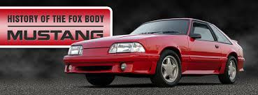 Black Fox Body Mustang History Of The Fox Body Mustang Mustang News Blog Cj Pony Parts