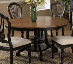 Oval Dining Table Set For 6 Ameillia 6 Pc Oval Dining Set With Butterfly Leaf Table 4 Side