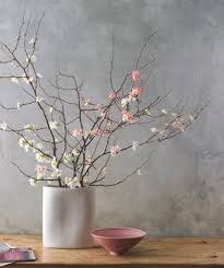Vase With Twigs How To Arrange Flowers Real Simple