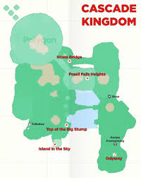 Red Black And Green Flag With Moon And Star Super Mario Odyssey Guide Cascade Kingdom All Power Moon