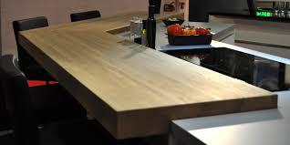 cuisine plan de travail bois massif comment entretenir plan de travail bois massif flip design