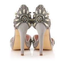 wedding shoes jeweled heels deco shoe deco wedding deco gatsby