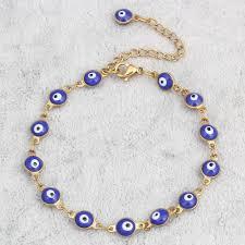 evil eye charm bracelet images Evil eye charm bracelet 13 different colors everything zen jpg