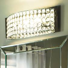 Chrome Bathroom Vanity Light Shop Kichler Lighting 4 Light Chrome Bathroom