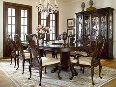gorgeous alexander julian dining room set with 8 chairs the table
