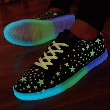 light up tennis shoes for adults unisex night light up sneakers hip hop dancer couple shoes lace up